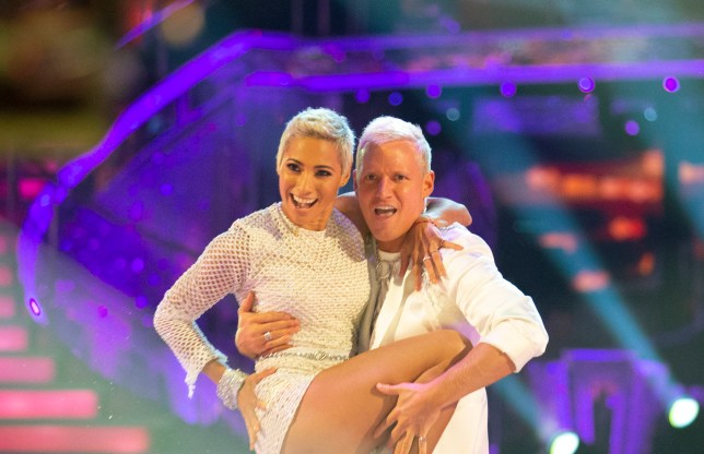 Jamie Laing and Karen Hauer on Strictly