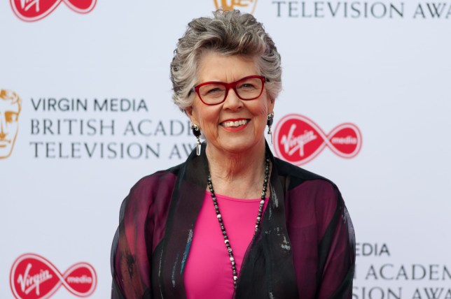 Prue Leith attends the Virgin Media British Academy Television Awards ceremony at the Royal Festival Hall on 12 May, 2019 in London, England
