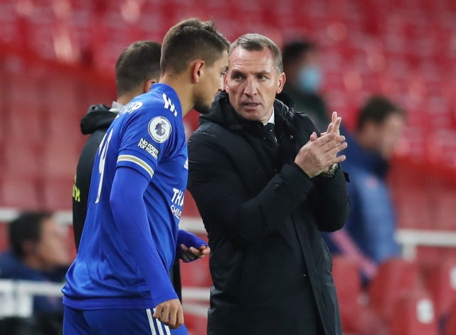 Brendan Rodgers admits he was surprised by Arsenal's change in formation