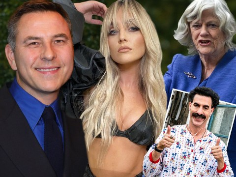 How David Walliams, Perrie Edwards and Ann Widdecombe were pranked into auditioning for  a fake Borat movie