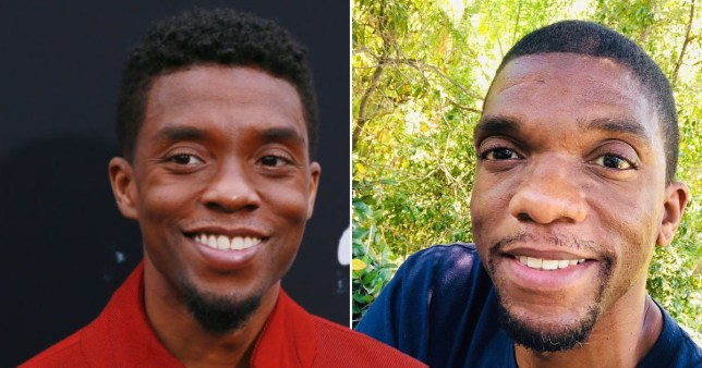 Chadwick Boseman's Brother Kevin Reveals He's in Remission from Cancer After Actor's Death Pics: Getty/Kevin Boseman/Instagram