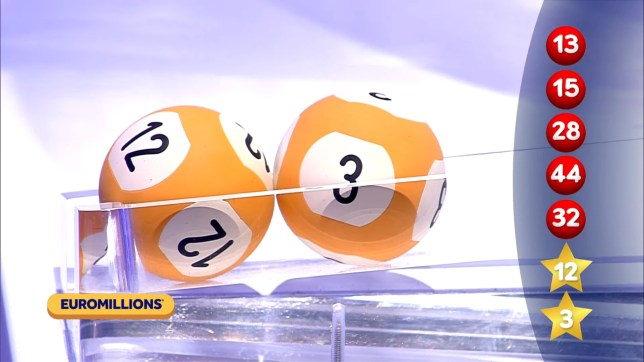 The National Lottery EuroMillions draw results