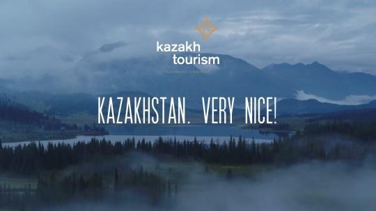 L'office du tourisme du Khazakstan adopte le slogan `` très niiice '' de Borat