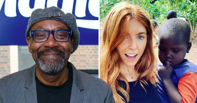 Sir Lenny Henry and Stacey Dooley