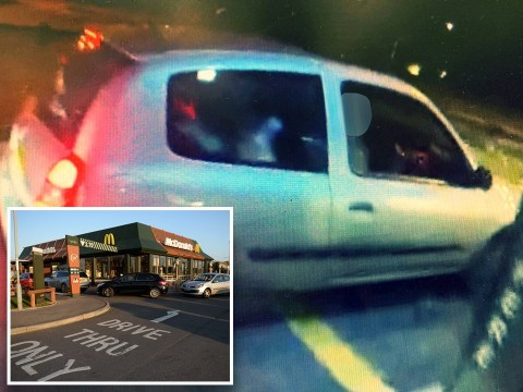 Cops take speeding boy, 15, back to parents after catching him at McDonald's