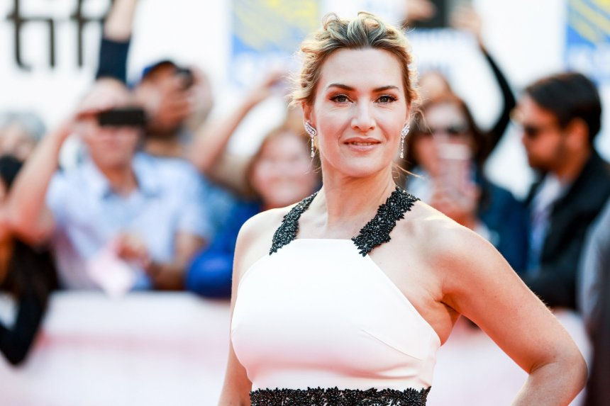 Kate Winslet attends 'The Mountain Between Us' premiere during the 2017 Toronto International Film Festival