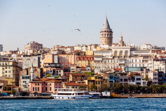 View of Itsanbul from river