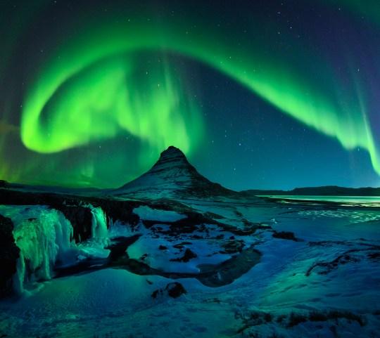Active Aurora Storm