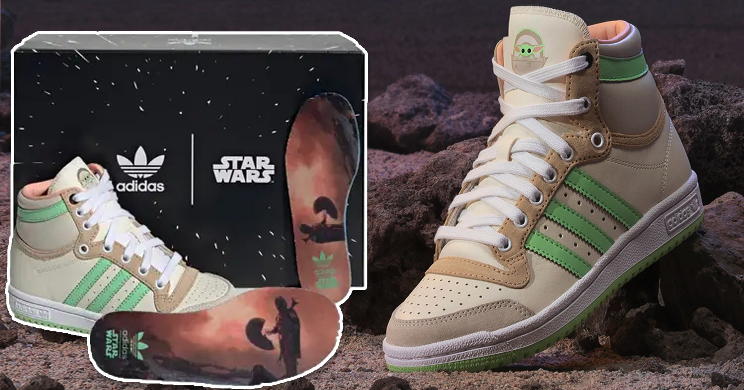 Adidas launches Baby Yoda-themed