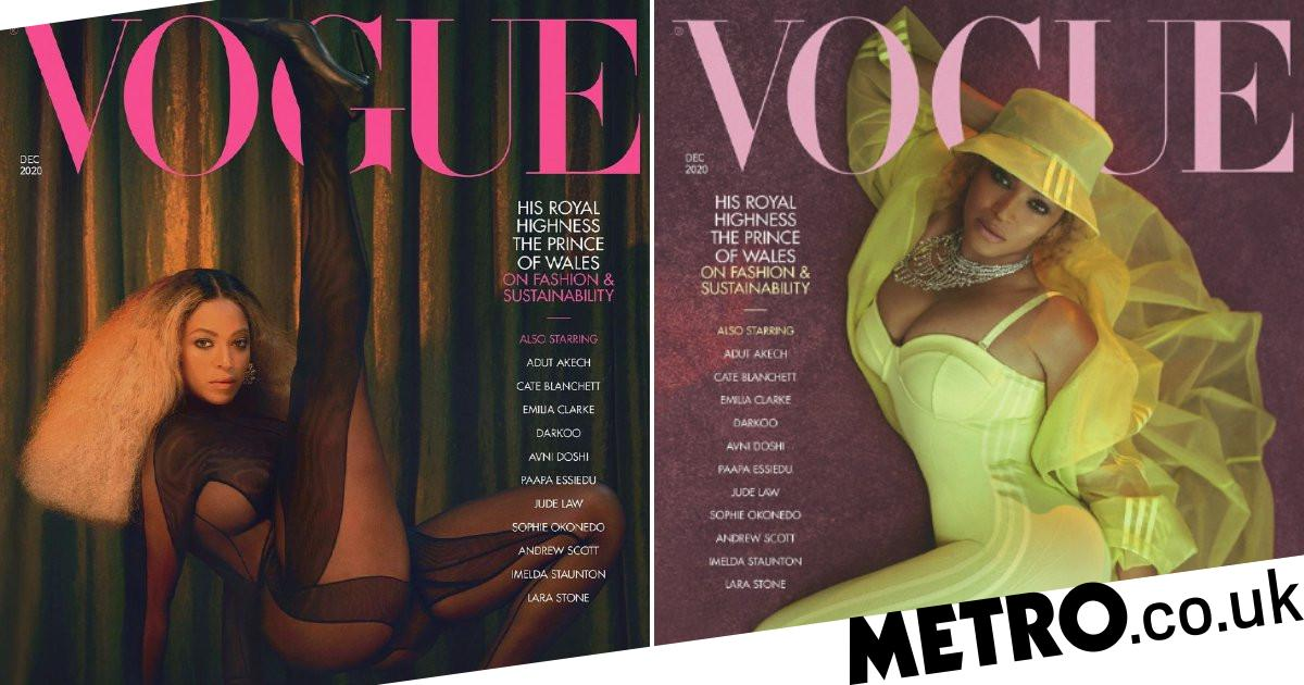Beyonce gives fans something to celebrate as she unveils stunning Vogue covers