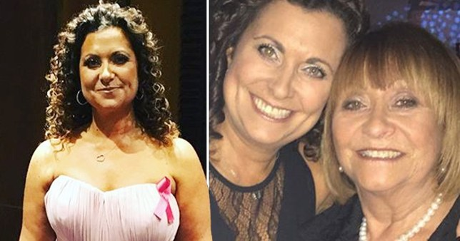 Gogglebox star says mum has been diagnosed with cancer again. pictured NIKKI TAPPER - and mum Marilyn Myers