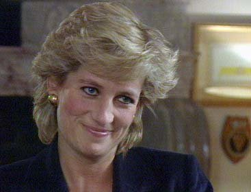 The Princess of Wales talks to BBC Panorama presenter Martin Bashir for famous 1995 interview