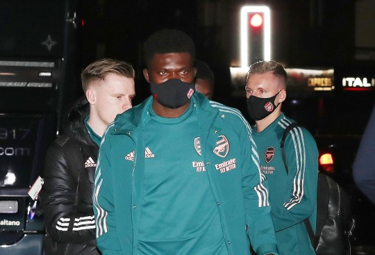 Thomas Partey is in line to make his Arsenal debut against Man City