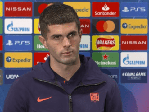 Christian Pulisic sends message to Frank Lampard over his fitness ahead of Man Utd clash