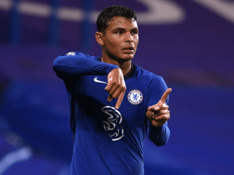Frank Lampard provides Thiago Silva injury update after Chelsea's draw with Sevilla