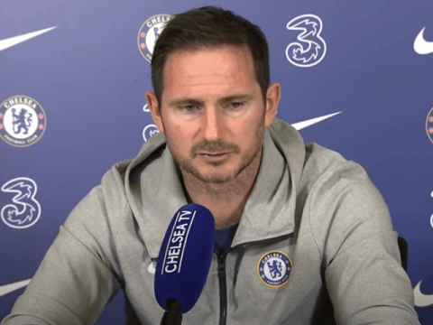 Chelsea boss Frank Lampard confirms Kepa Arrizabalaga and Billy Gilmour will miss Manchester United clash