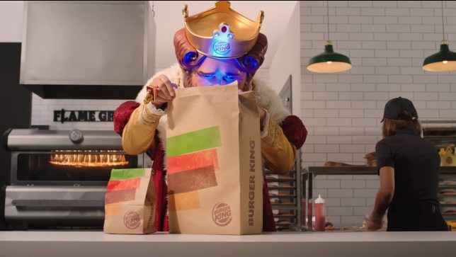 Burger King PS5 ad