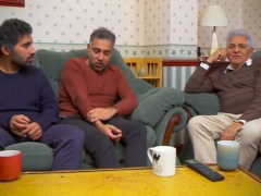 Gogglebox's Sid Siddiqui blushes as fans praise his new hairdo