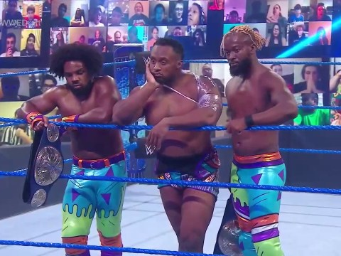 WWE SmackDown results: New Day break up in draft, Lars Sullivan returns and more