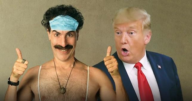 Trump sacha baron cohen