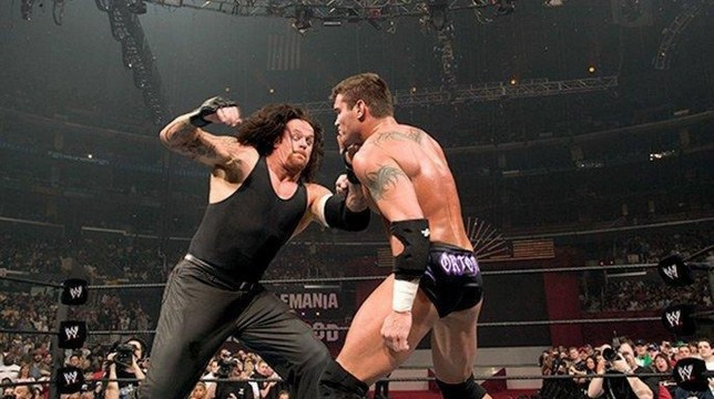 WWE legends The Undertaker and Randy Orton
