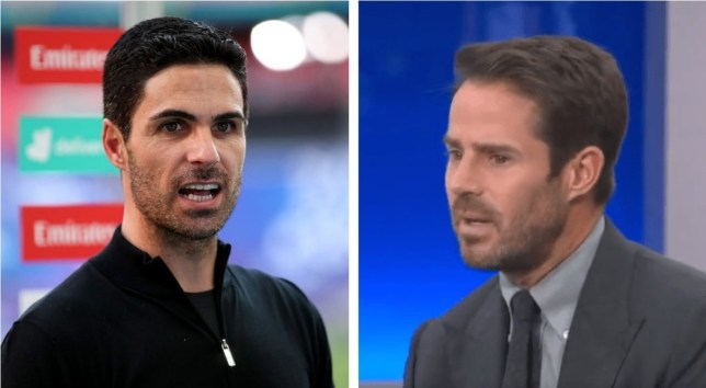 Jamie Redknapp has issued a warning to Arsenal manager Mikel Arteta