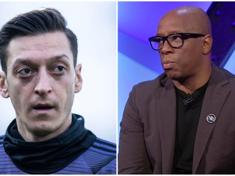 Ian Wright sends message to 'quality' Mesut Ozil over his Arsenal career