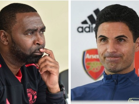 Manchester United hero Andy Cole accuses Mikel Arteta of 'disrespecting' Arsenal striker Alexandre Lacazette