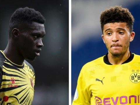 Darren Bent warns Manchester United about signing Ismaila Sarr as Jadon Sancho alternative