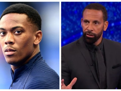 Rio Ferdinand hits back at Paul Scholes over Anthony Martial dig