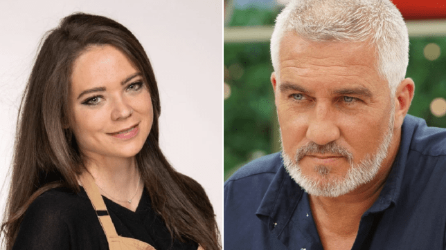 Bake Off's Lottie and Paul Hollywood