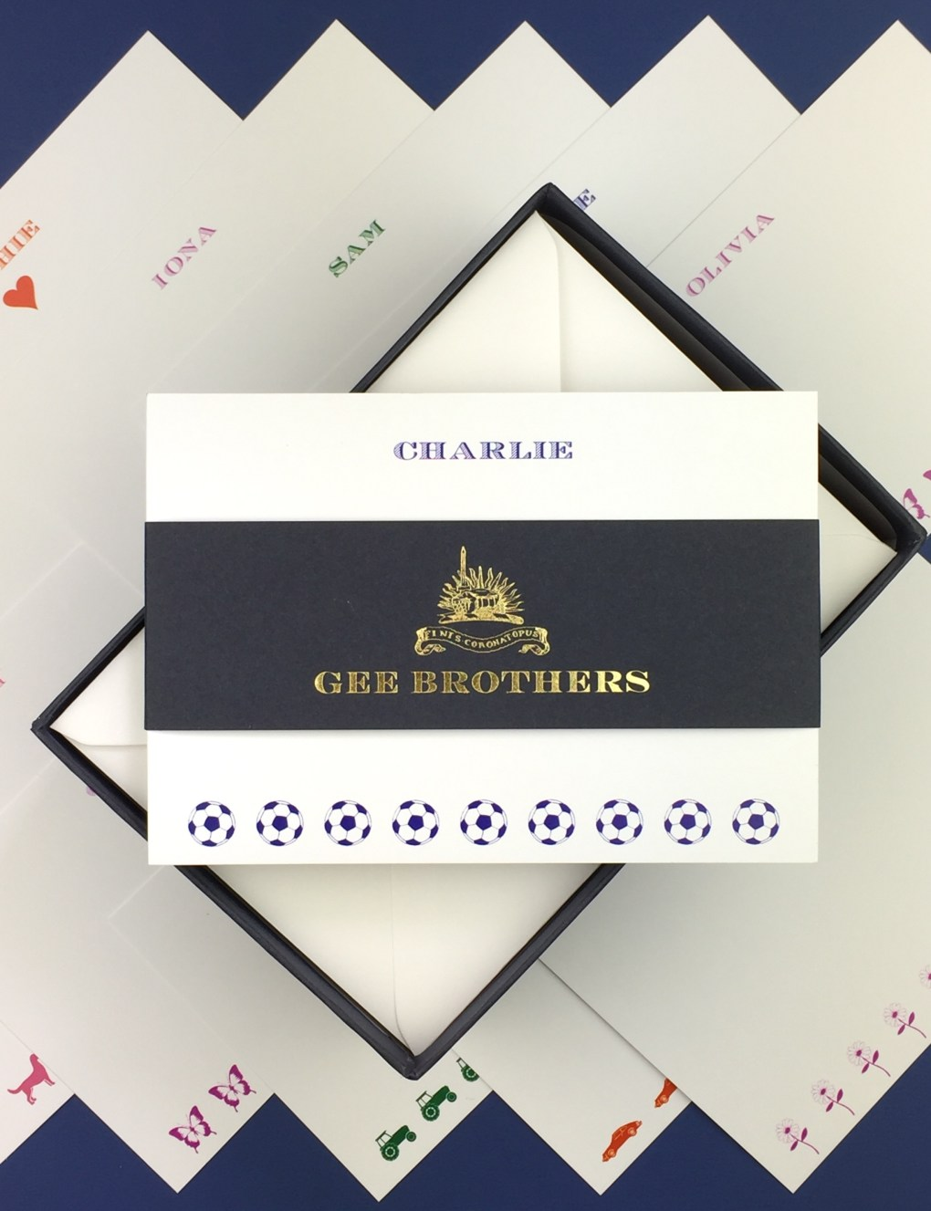 Gee Brothers Personalised Postcards for Children