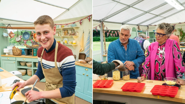 Peter Bake Off and Paul Hollywood and Prue Leith