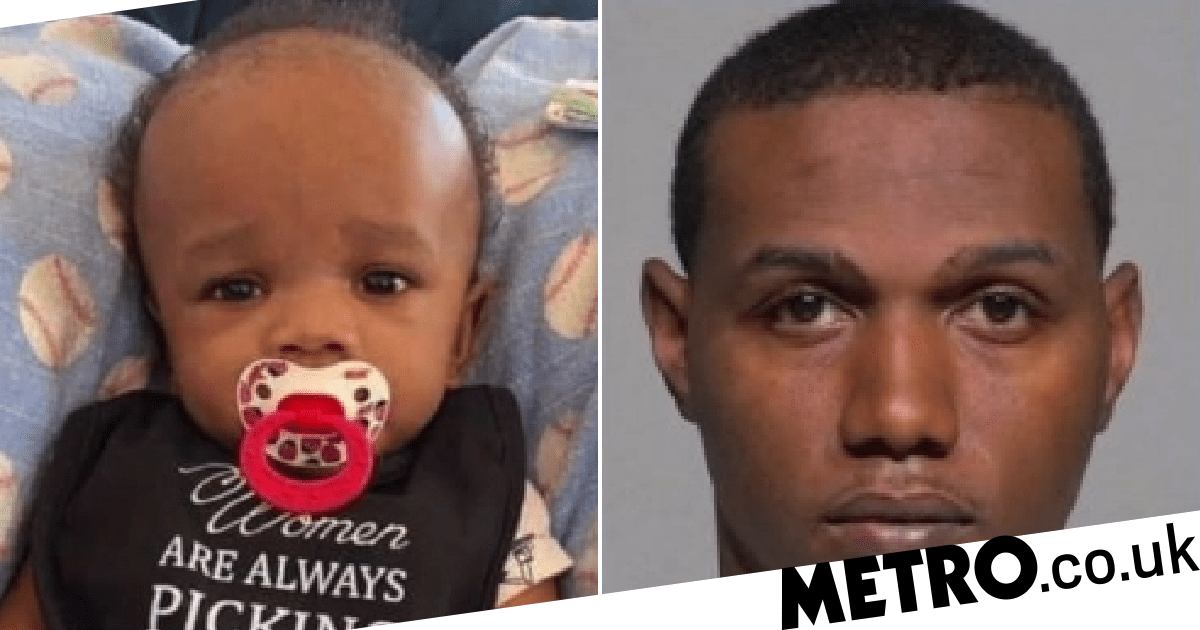Tiny baby 'was so badly battered by killer dad doctors thought he'd been in high-speed crash' - metro