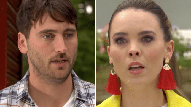 Damon and Liberty in Hollyoaks
