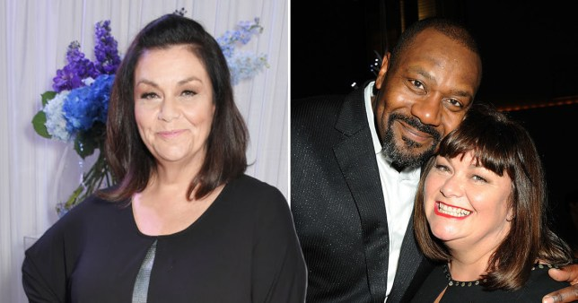 Dawn French and Sir Lenny Henry