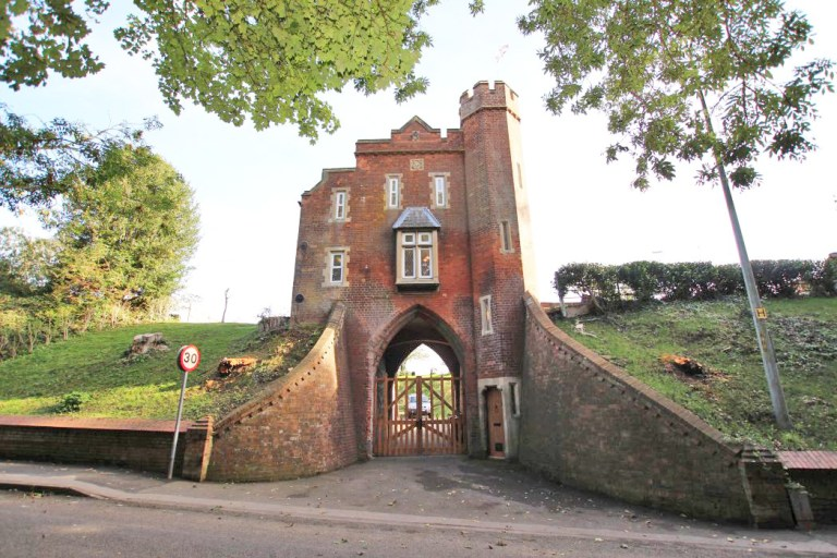 gatehouse with its own turret for sale in louth
