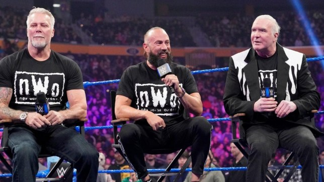 WWE legends and nWo members Kevin Nash, X-Pac and Scott Hall