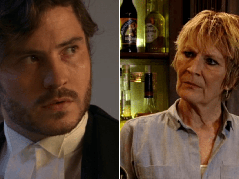 Shirley has a shock offer for killer Gray in Eastenders