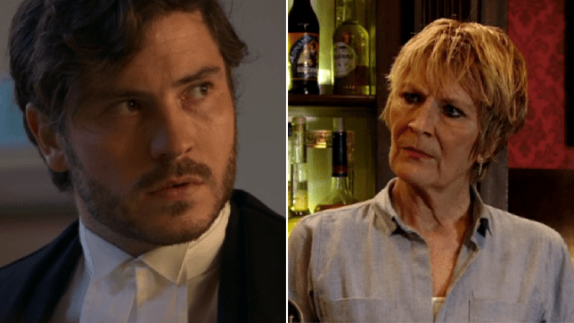 Shirley and Gray EastEnders