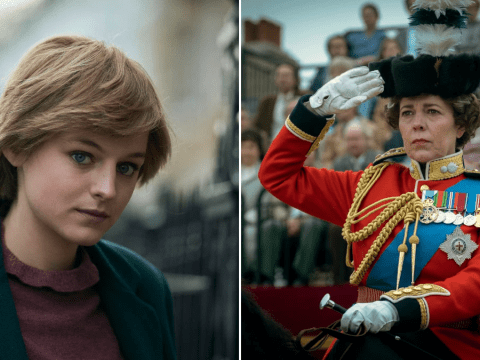 The Crown's Emma Corrin struggled not to take Olivia Colman's 'stone-cold' acting personally