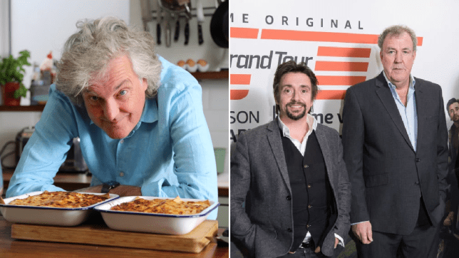 James May, Richard Hammon and Jeremy Clarkson