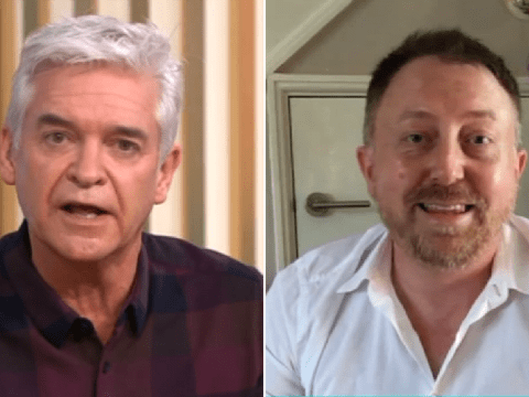 Phillip Schofield awkwardly clashes with This Morning guest over lockdown comments: 'I did not say that'
