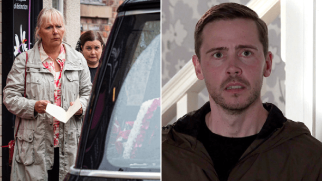 Todd, Eileen and Mary in Coronation Street