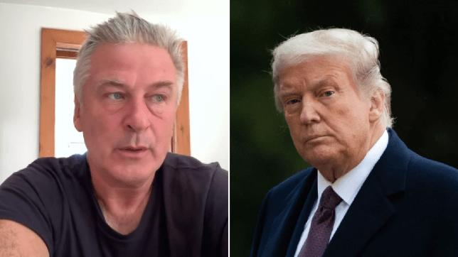 Alec Baldwin and Trump