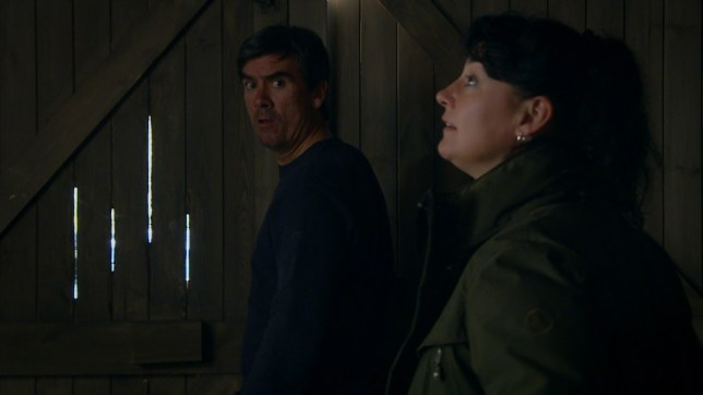 Cain and Moira in Emmerdale