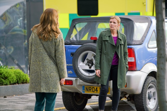 Leanne and Toyah in Coronation Street