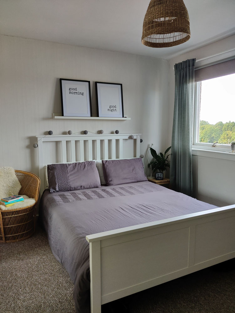 What I Rent: Megan, Falkirk - megan and william's bedroom