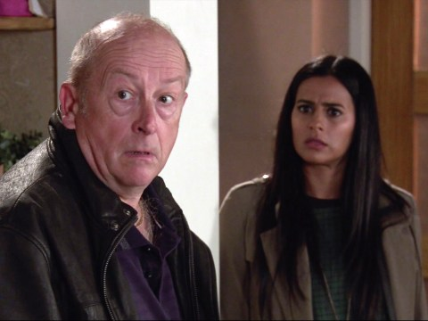 Coronation Street star Sair Khan confirms Geoff and Alya rooftop stunt