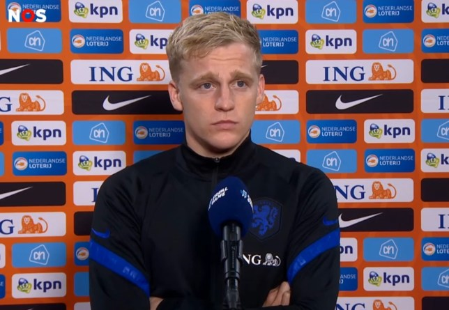 Donny van de Beek is confident his chance will come at Manchester United